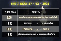Bản tin AoE Thứ Bảy ngày 27/3: Hồng Anh - Kamachi đối đầu Shenlong - Tiểu Hòa Ca, giải đấu EGO PLAY bước vào giai đoạn then chốt