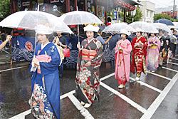 七行器行列 会津田島祇園祭