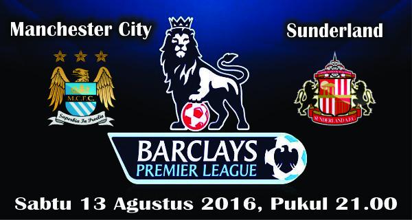 prediksi bola manchester city vs sunderland 14 agustus 2016