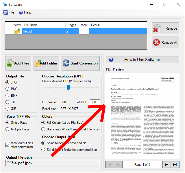 How to Convert PDF to JPG File Format in 2017 FREE