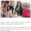 Lucinta Luna Dibelikan Gelang Hermes oleh 'My Dilan', Suratnya Disebut Halu