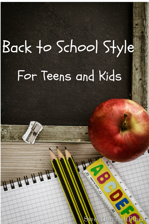 Back to School Style for Kids and Teens