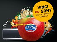 Logo Concorso ''Kanzi Coins'' gioca e vinci 100 Sony XB21 Bluetooth speaker