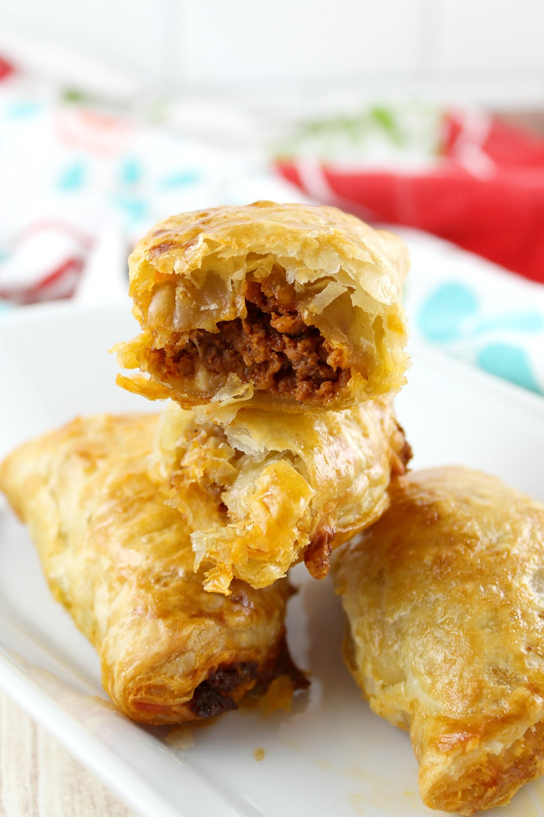 delicious and three ingredients - chorizo & cheese empanadas - on the table in minutes!