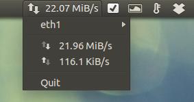 Confira a velocidade de conexão de rede no Ubuntu através do painel no Unity
