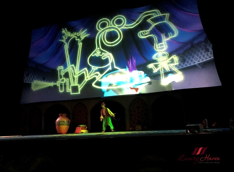 disneysea arabian coast magic lamp theater magic show