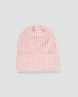 bonnet rose Zara