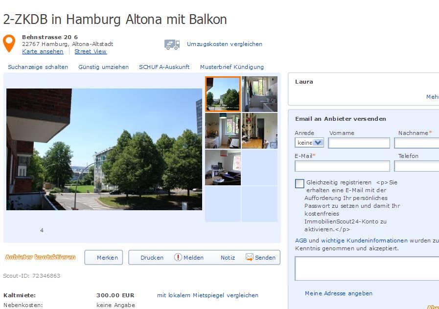 Wohnungsbetrug Blogspot Com Laura 2 Zkdb In Hamburg