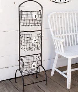 Farmhouse laundry room must have shelving