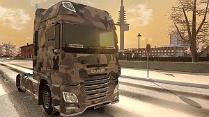 Winter Army Ohaha's DAF Euro 6