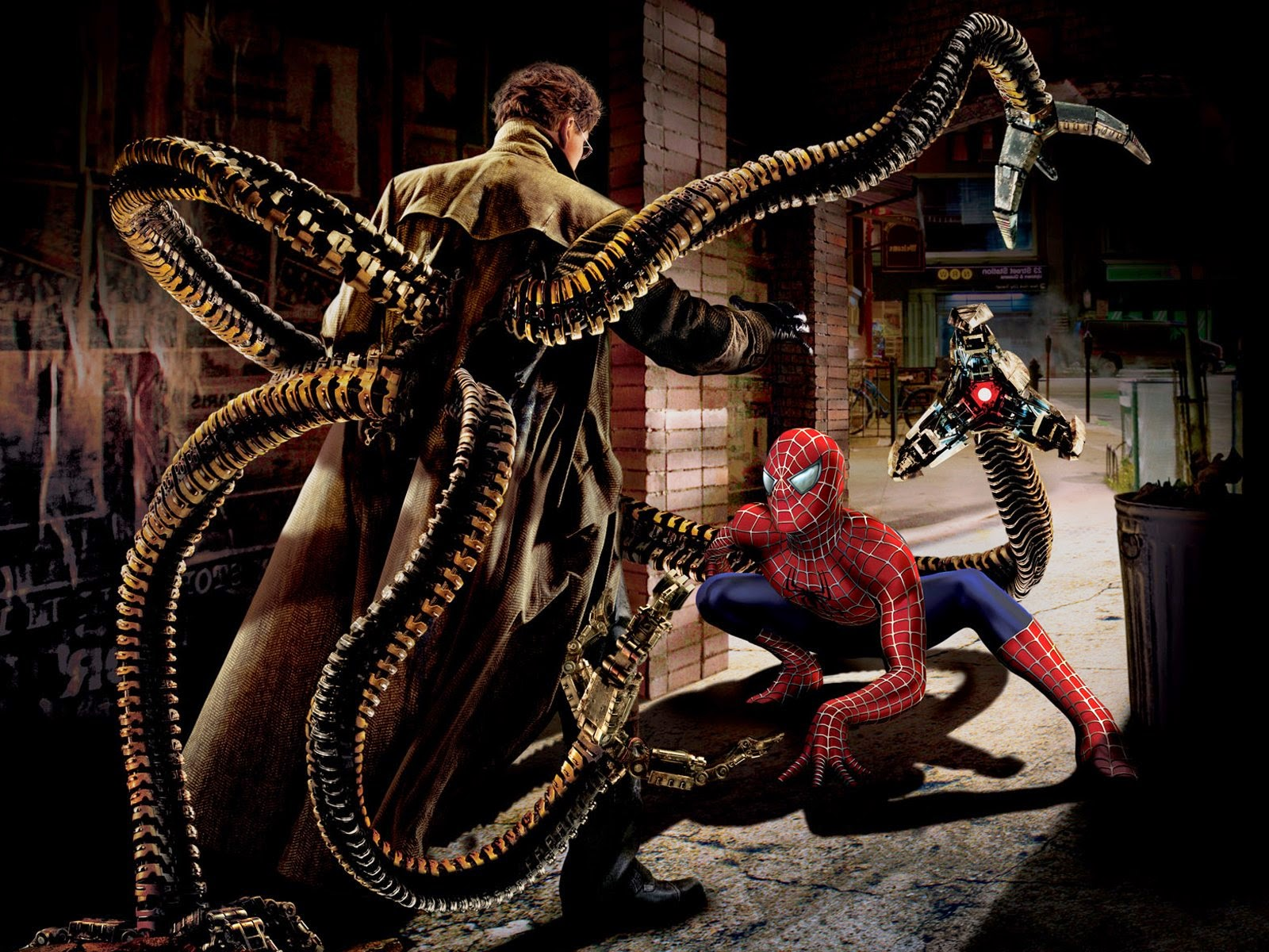 Spider-Man 2 Doc Ock vs Spidey
