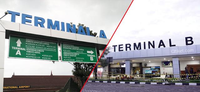 terminal bandara Adi Sucipto yogyakarta