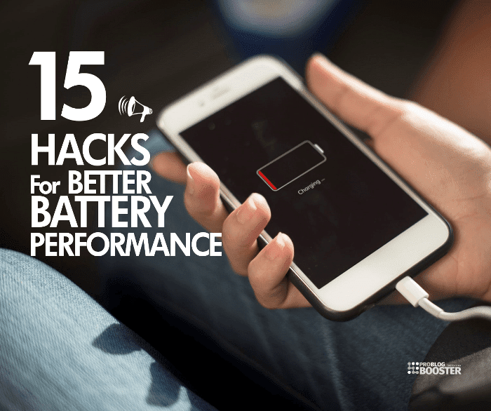 Better Smartphone Battery Life