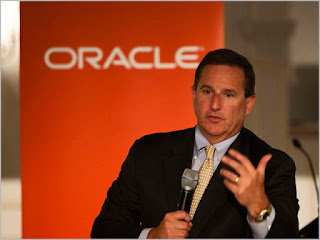 Mark Hurd CEO de Oracle
