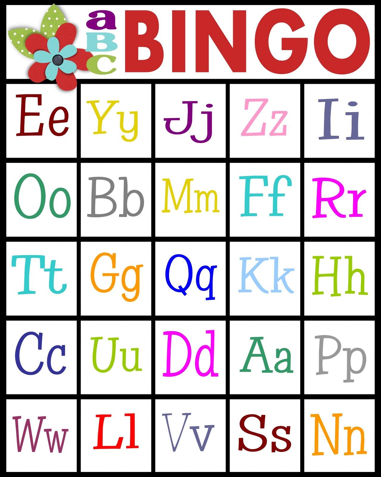 Sassy Sanctuary Abc S Bingo Free Printable
