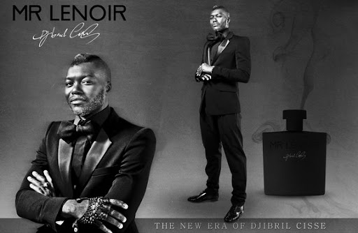 The new era of Djibril Cissé - the fragrance MR LENOIR cosmetics