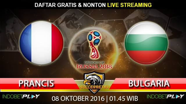 Prediksi Prancis vs Bulgaria 08 Oktober 2016 (Piala Dunia 2018)