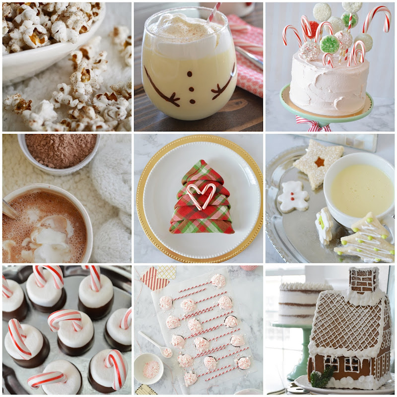 Christmas Recipes, Christmas Cookies, Gingerbread House, Peppermint Bark, Hot Chocolate, Christmas Cake