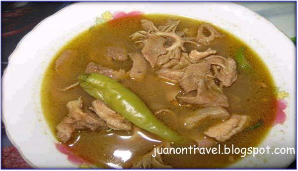 Sinanglaw / Pinapaitan (Beef Innards Stew) Recipe