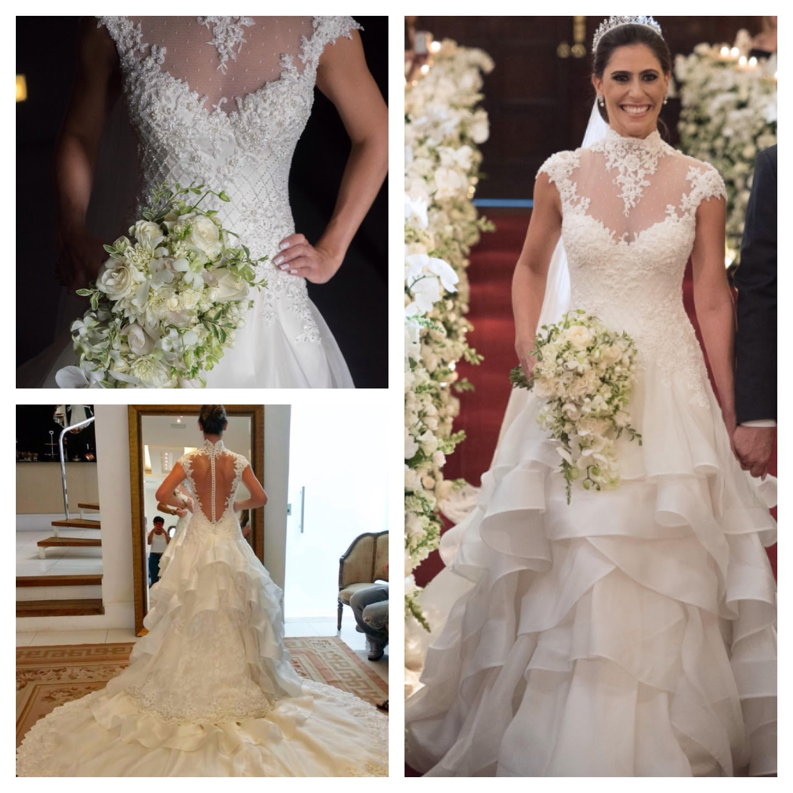 b9691d555 Um sonho de vestido. Ficarei muito feliz em vê-lo em outra noiva, pois  foram 9 meses de dedicação à ele. Valor: R$18.000,00 email:  julianaissa.ch@hotmail. ...