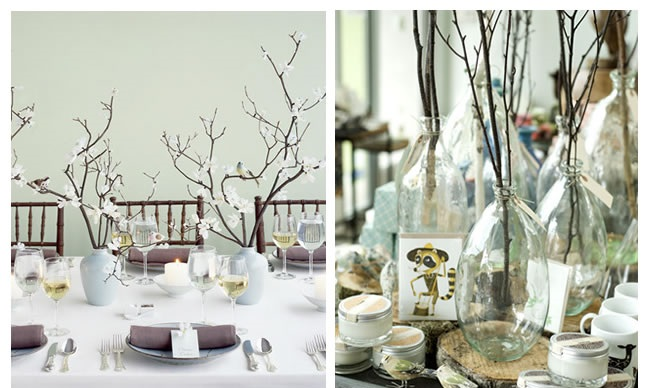 Unique Fall Wedding Centerpieces: Rustic Wedding Centerpieces Ideas