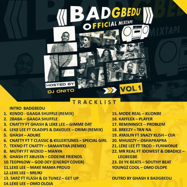 MIXTAPE || BadGbedu com ng - BadGbedu Official Mixtape Vol 1