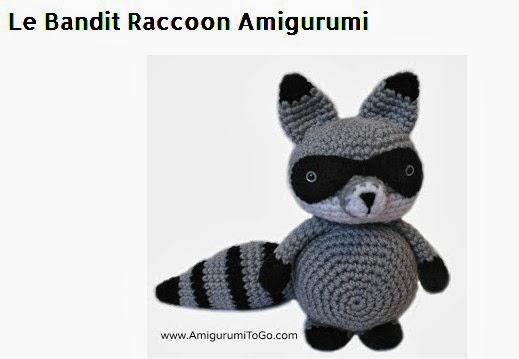 Crochet Bandit The Amigurumi Raccoon | Bandidos, Bonecas de crochê ... | 359x519