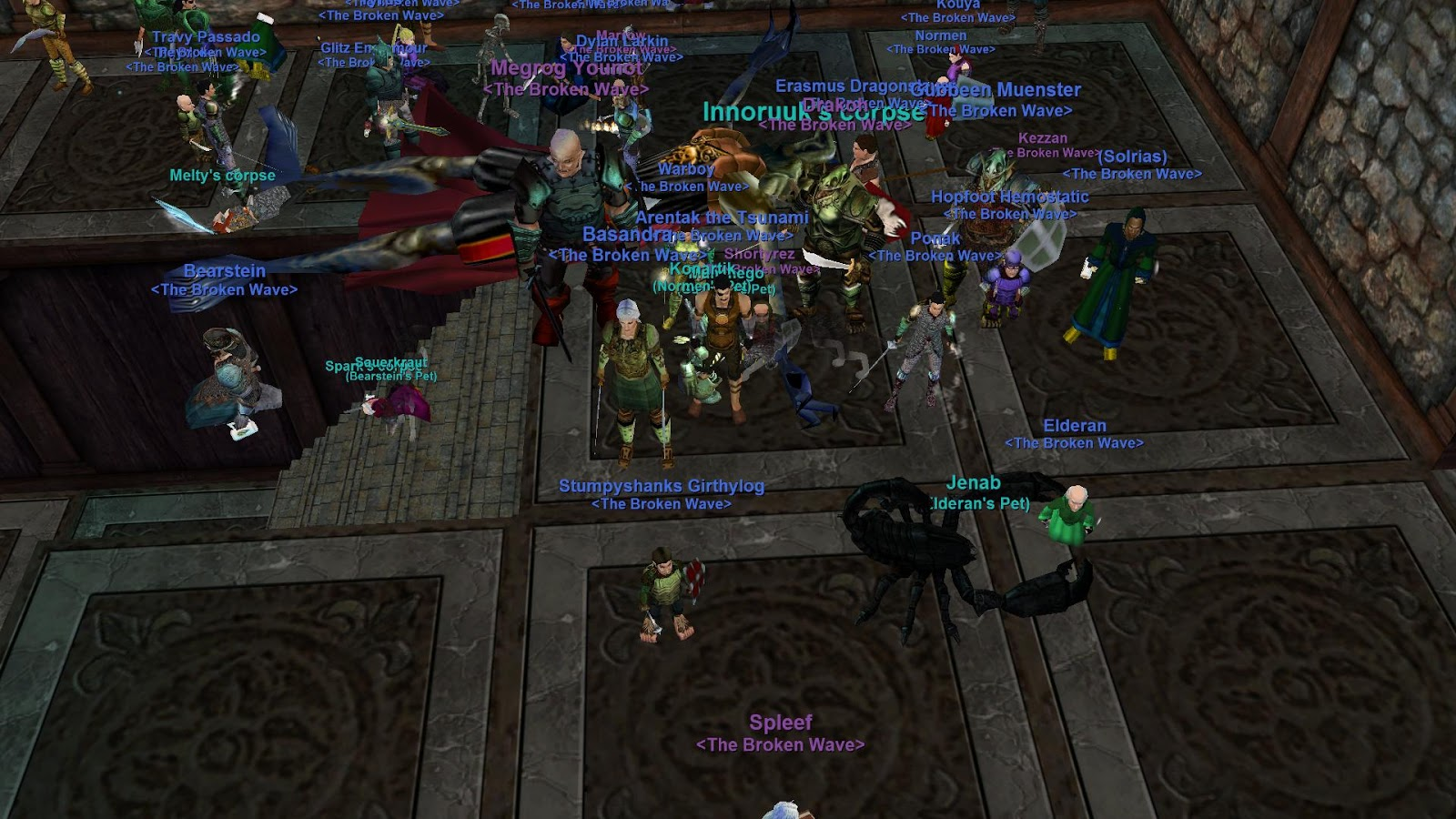 Arentak's Everquest Blog: Innoruuk down!