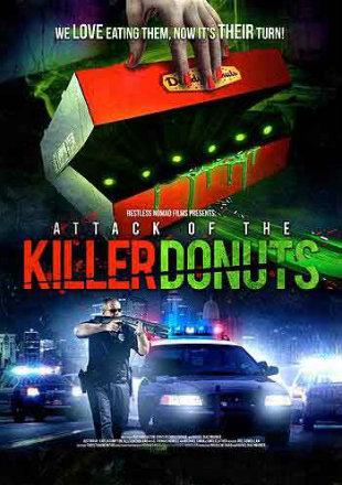 Attack Of The Killer Donuts 2016 480p Dual Audio Hindi BluRay 300MB