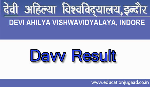 Davv b sc h sc semester 5 result education jugaad for Davv 4th sem time table
