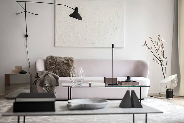 A Swedish Infinite Amongst Soft Pinkish In Addition To Milky Hues