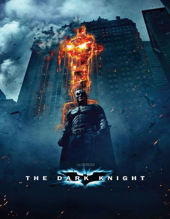 Poster Of The Dark Knight 2008 Dual Audio 180MB BRRip HEVC Mobile ESubs Free Download Watch Online downloadhub.net