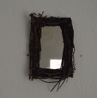Espelho Rústico - Witch Rustic Mirror DIY