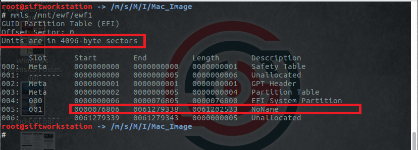 Another Forensics Blog: Mounting an APFS image in Linux
