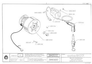 Mecánica de MONTESA cota: Cota 307