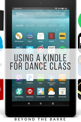 How To Use A Kindle To Run Your Dance Class Smoothly