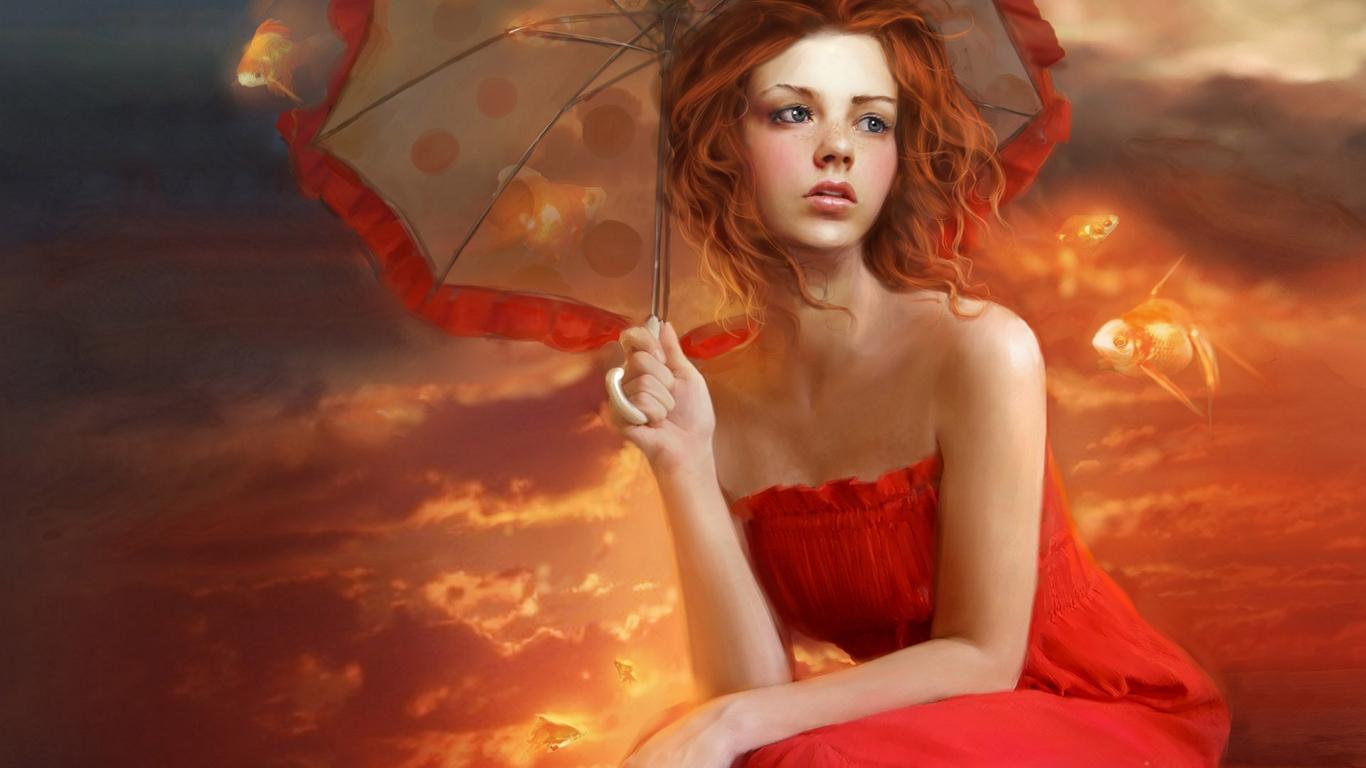 Gta Girl Gun Desktop Wallpaper Digital Art Gallery Animated Girls Beautiful Girl