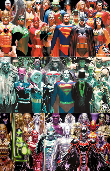 Think, that alex ross justice league confirm. And