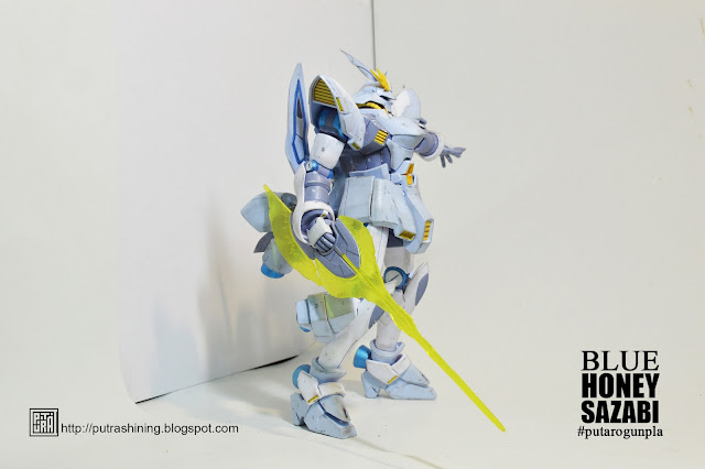 HGBF 1/144 MISS SAZABI Custom Paint by Putra Shining - PUTARO GUNPLA