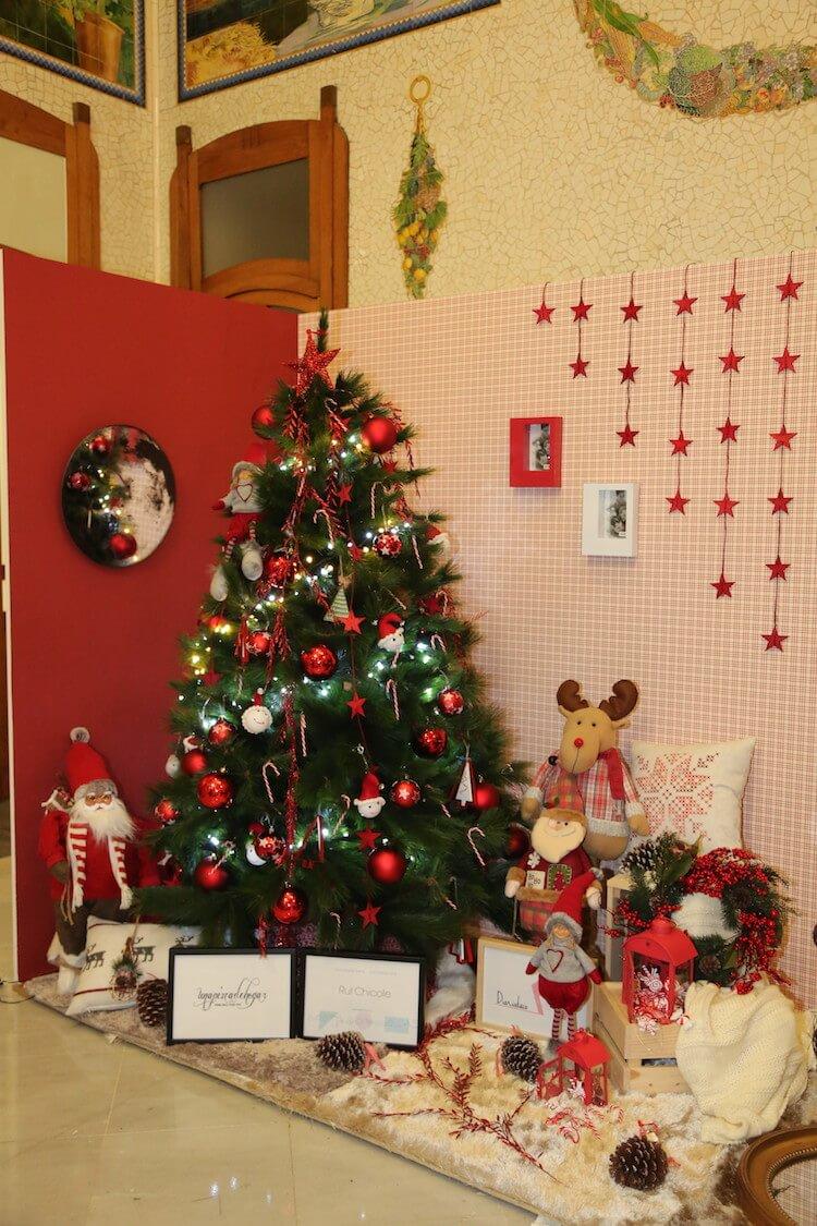 Decoramos la estación del Norte de Valencia por Navidad