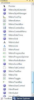 Membuat tampilan Metro Form CSharp dan Vb.Net