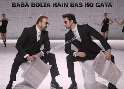 BABA BOLTA HAIN BAS HO GAYA LYRIC | Sanju | Ranbir Kapoor