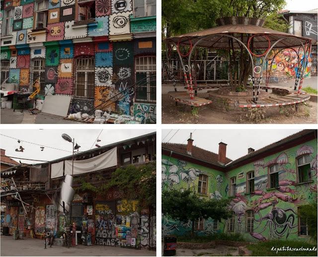 Barrio de Metelkova Liubliana