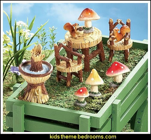 Miniature Fairy Garden Furniture Decor