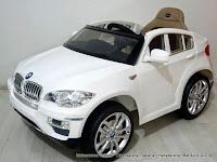 Mobil Mainan Aki Junior JB30 BMW X6 SUV Lisensi