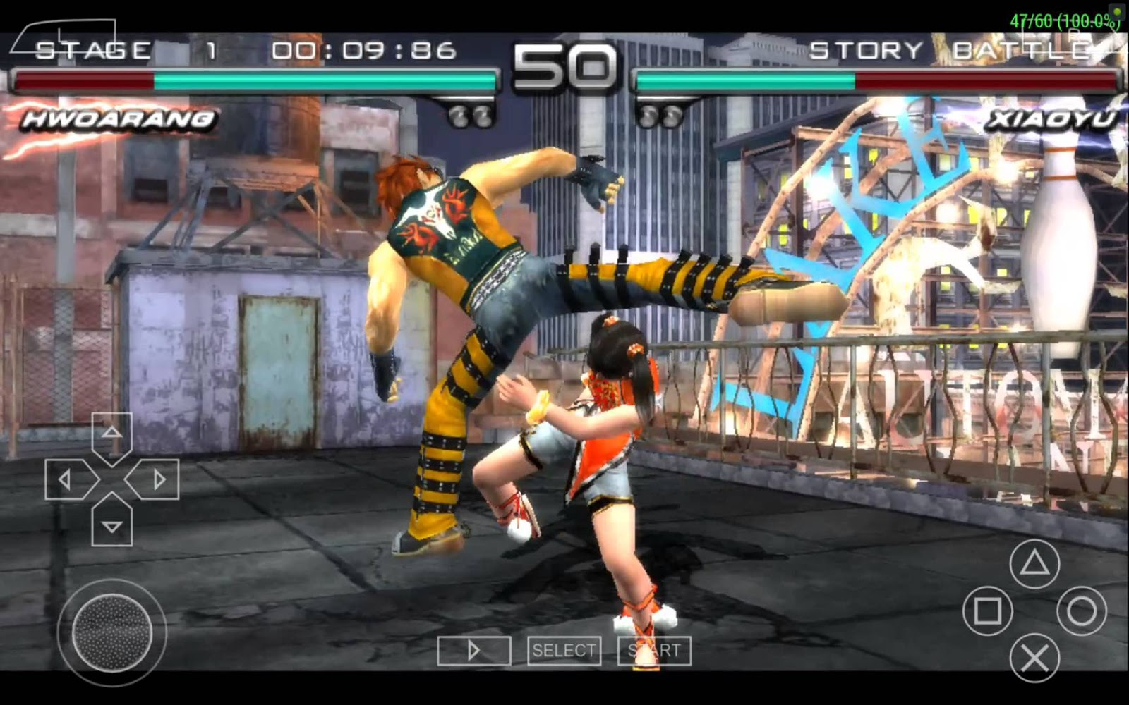 Play Tekken Advance on GBA - Emulator Online