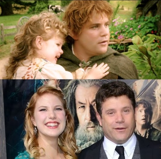 Sean Astin Hope Unquenchable Sean Astin And Family At The Hobbit Desolation Of Smaug Premiere