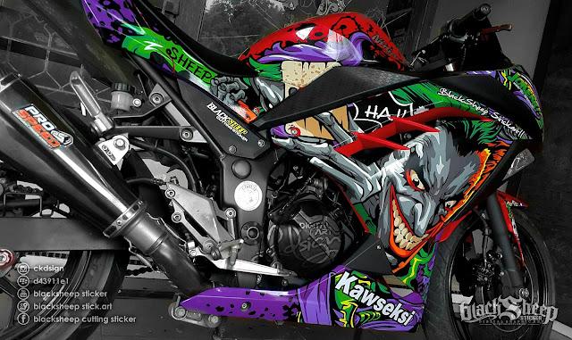 Kawasaki Ninja Joker cutting sticker