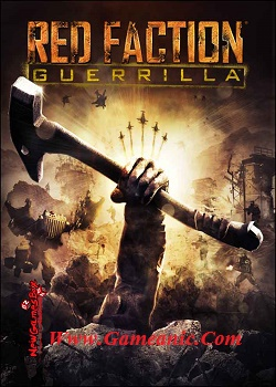 Red Faction Guerrilla PC Game Cover