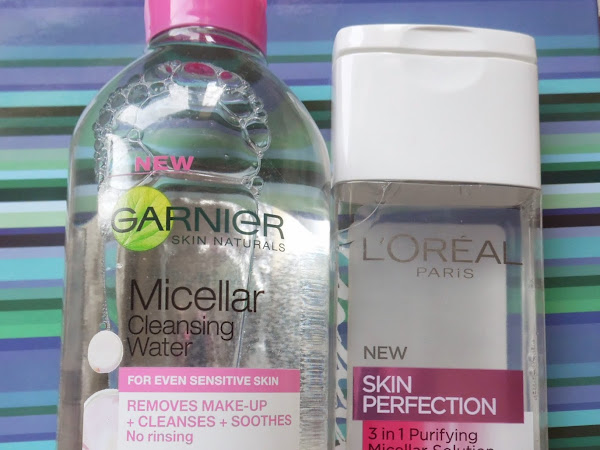Micellar Waters: L`Oreal vs. Garnier